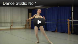 Video Tour of Dance Studio No 1