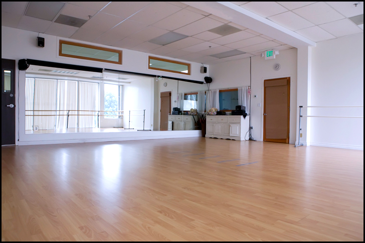Studio Rental Space Available At Dance Studio No 1