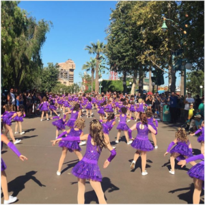 Disney Camp Parade